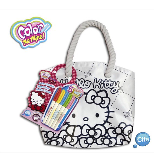 BOLSO COLOR ME MINE HELLO KITTY