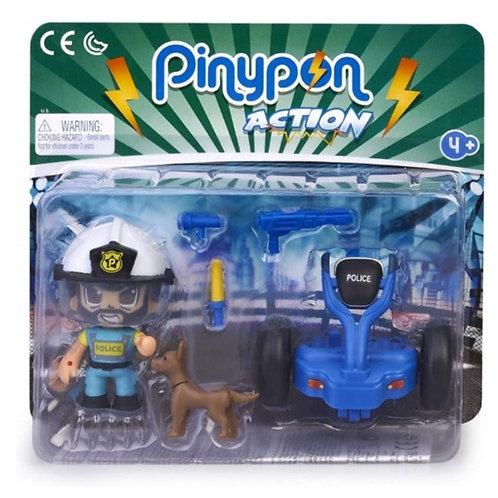 PINYPON ACTION POLICÍA CON SEGWAY