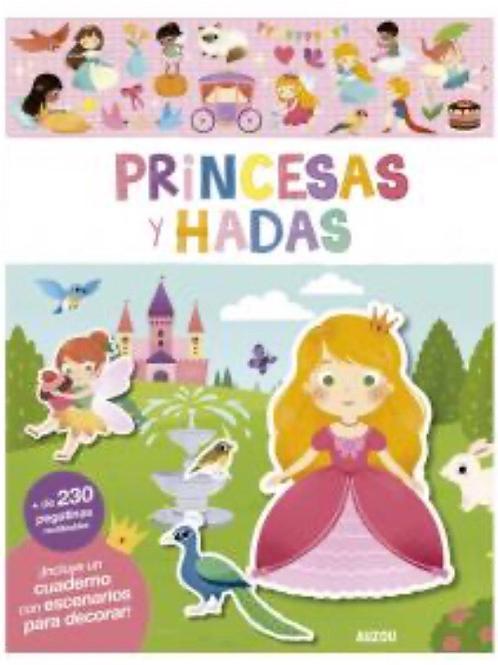 CUADERNO PRIMERAS PEGATINAS PRINCESAS Y HADAS