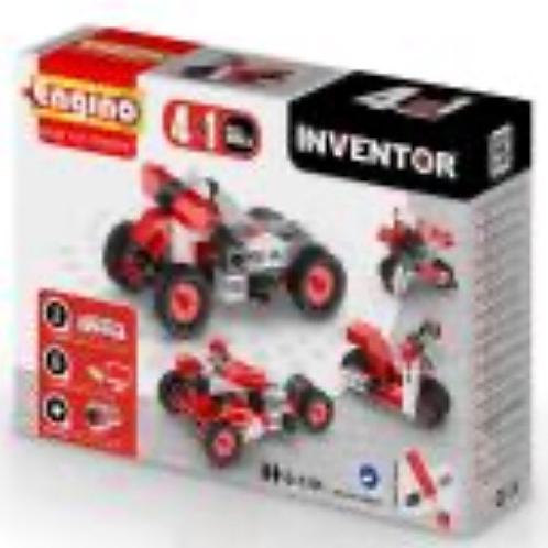 CONSTRUCCION INVENTOR MOTOS 4 EN 1 ENGINO