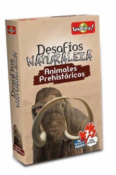 DESAFÍOS DE LA NATURALEZA ANIMALES PREHISTÓRICOS
