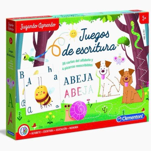 JUEGOS DE ESCRITURA +5 CLEMENTONI