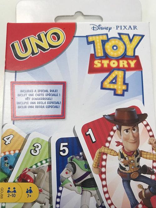 CARTAS UNO TOY STORY 4