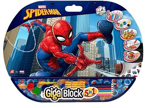 GIGA BLOCK SPIDERMAN
