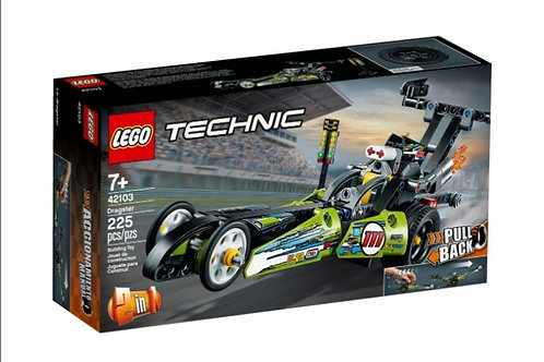 LEGO 42103 TECHNIC DRAGSTER 2 EN 1