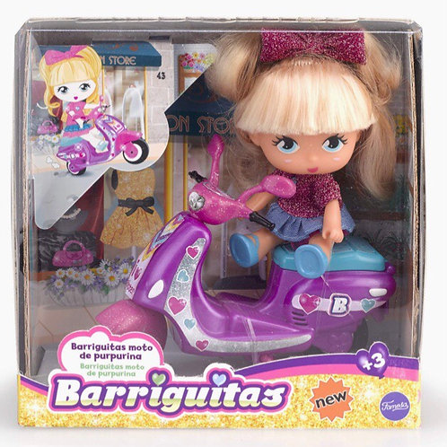 BARRIGUITAS MOTO PURPURINA
