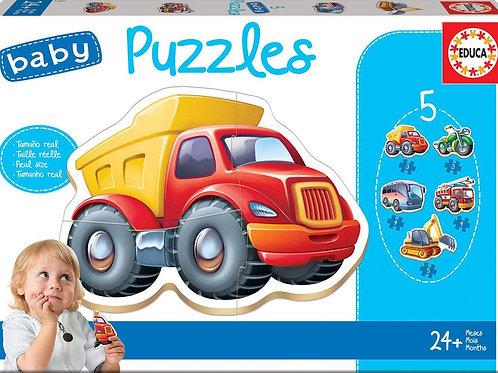 BABY PUZZLE EDUCA LOS TRANSPORTES