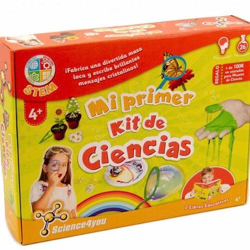 MI PRIMER KIT DE CIENCIAS SCIENCE4YOU