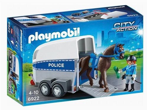 PLAYMOBIL 6922 REMOLQUE POLICIA