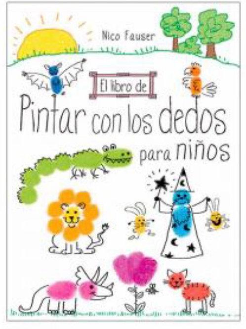 EL LIBRO DE PINTAR CON LOS DEDOS