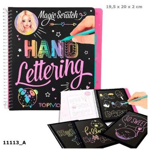 MAGIC SCRATCH-BOOK HAND LETTERING