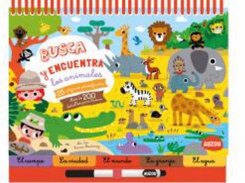 BUSCA Y ENCUENTRA LOS ANIMALES AUZOU