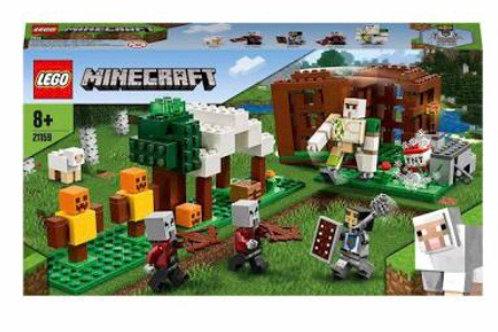 LEGO 21159 MINECRAFT LOS SAQUEADORES