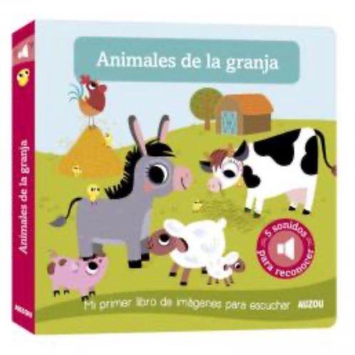 ANIMALES DE LA GRANJA LIBRO PARA ESCUCHAR