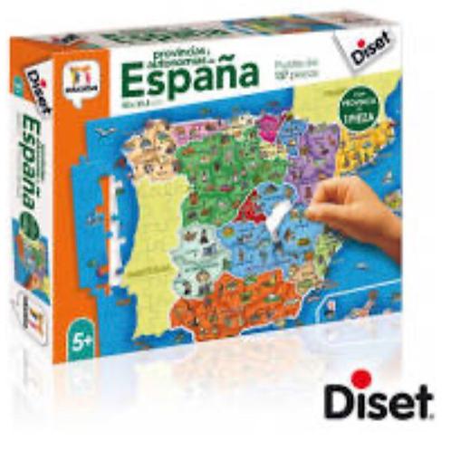 PUZZLE DISET 137 PIEZAS ESPAÑA