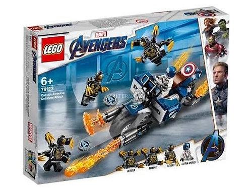 LEGO 76123 VENGADORES CAPITÁN AMÉRICA