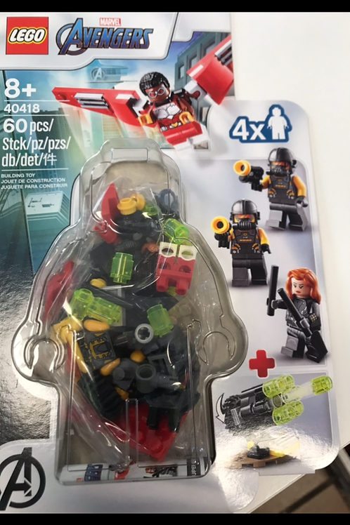 LEGO 40418 FALCÓN Y VIUDA NEGRA