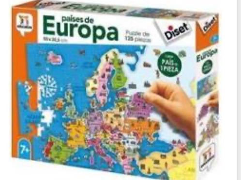 PUZZLE DISET 125 PIEZAS EUROPA