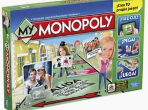 MONOPOLY CREA TU PROPIO JUEGO