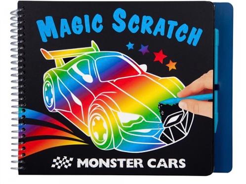 CUADERNO MAGIC SCRATCH CARS