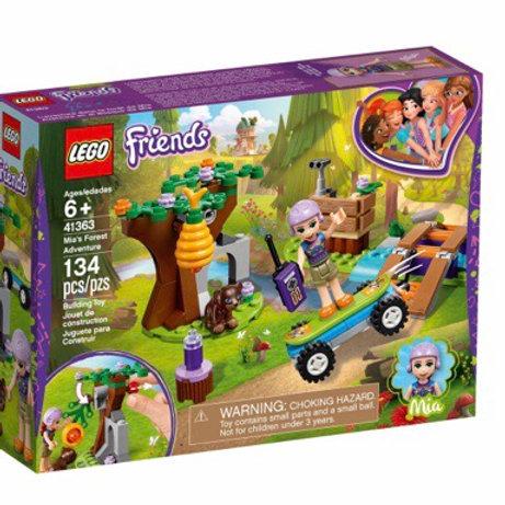LEGO 41363 AVENTURAS EN EL BOSQUE DE MIA