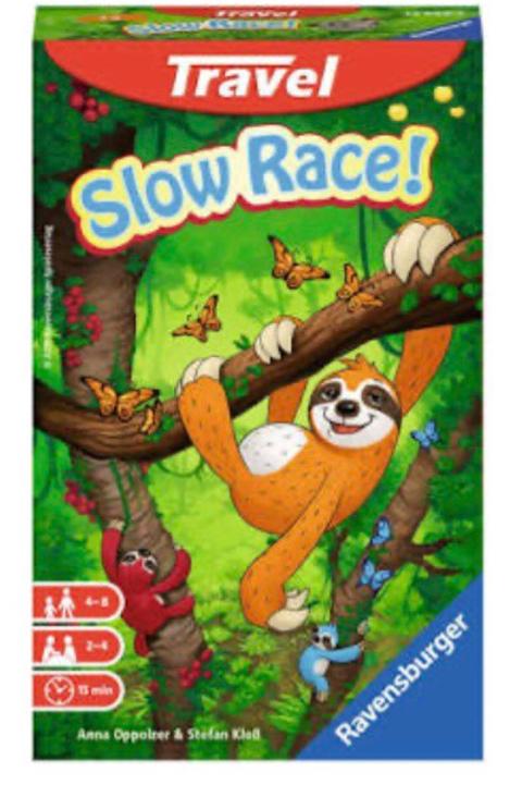 SLOW RACE JUEGO DE VIAJE