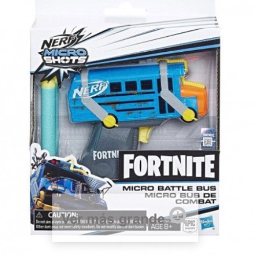 NERF MICROSHOTS FORTNITE BUS