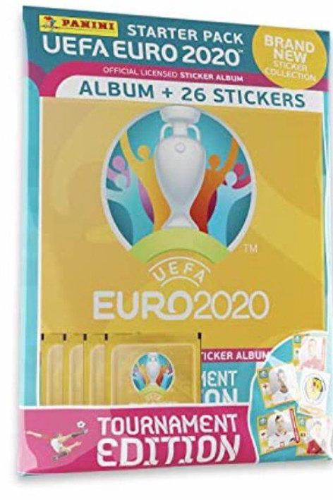 ALBUM + 6 SOBRES UEFA EURO 2020
