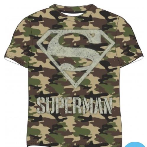 CAMISETA  SUPERMAN CAMUFLAJE
