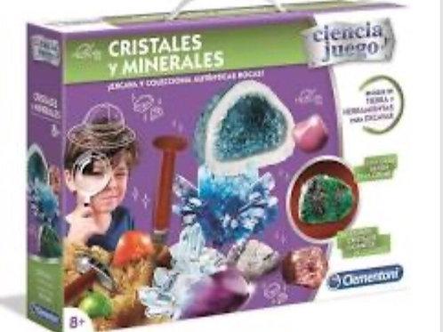 CRISTALES Y MINERALES CLEMENTONI