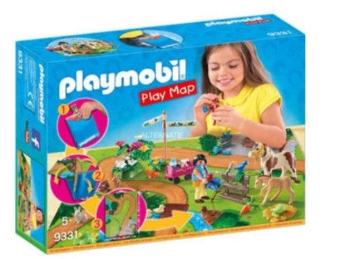 PLAYMOBIL 9331 PASEO CON PONIS