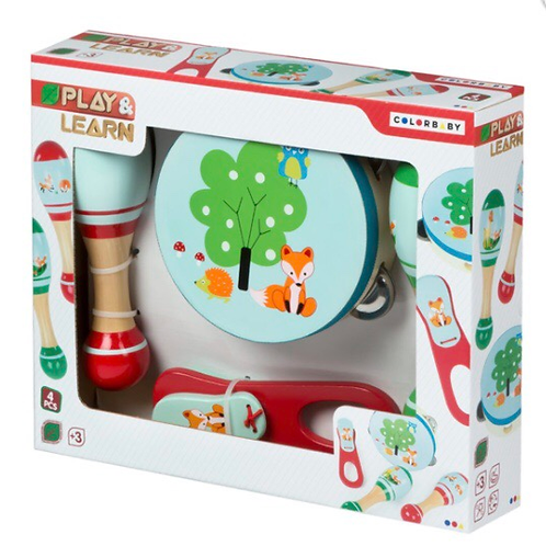 INSTRUMENTOS MUSICALES PLAY&LEARN