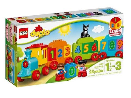 LEGO 10847 DUPLO TREN