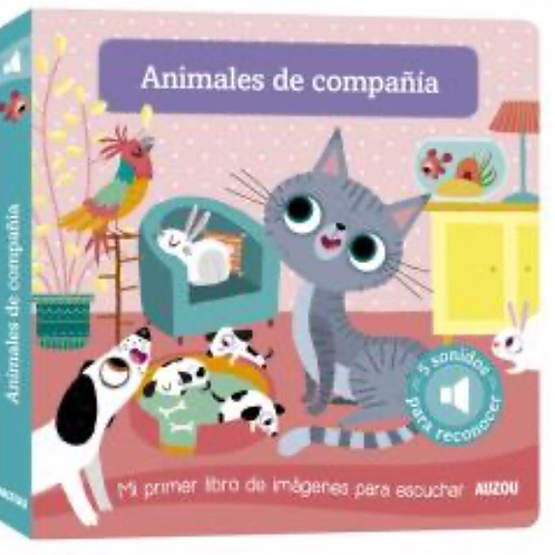 ANIMALES DE COMPAÑÍA LIBRO PARA ESCUCHAR