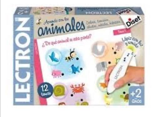 LECTRON LOS ANIMALES DISET