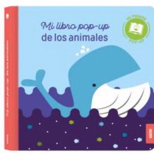 LIBRO POP UP LOS ANIMALES AUZOU