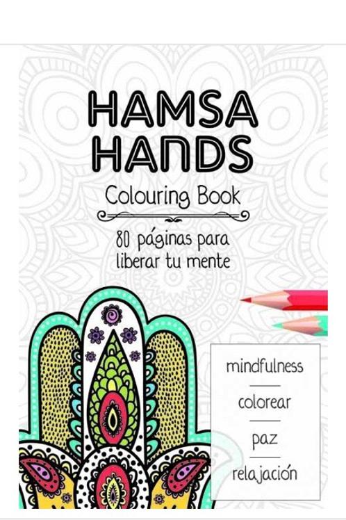 LIBRO MANDALA HAMSA HANDS