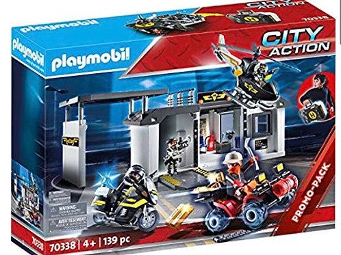 PLAYMOBIL 70338 COMISARIA FUERZAS ESPECIALES