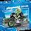 Thumbnail: PLAYMOBIL 70204 MOTORISTA CON MOTO
