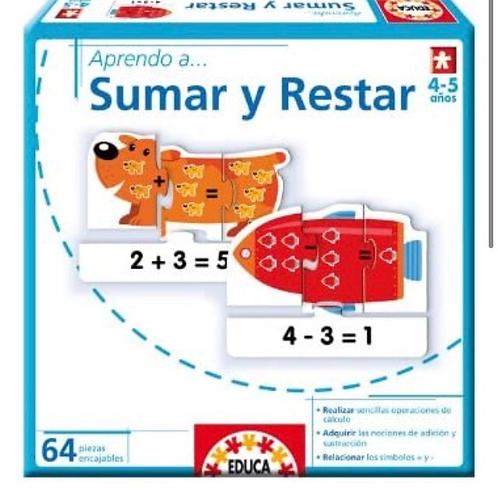APRENDO A SUMAR Y RESTAR EDUCA