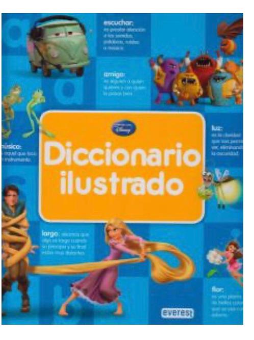 LIBRO DICCIONARIO ILUSTRADO DISNEY