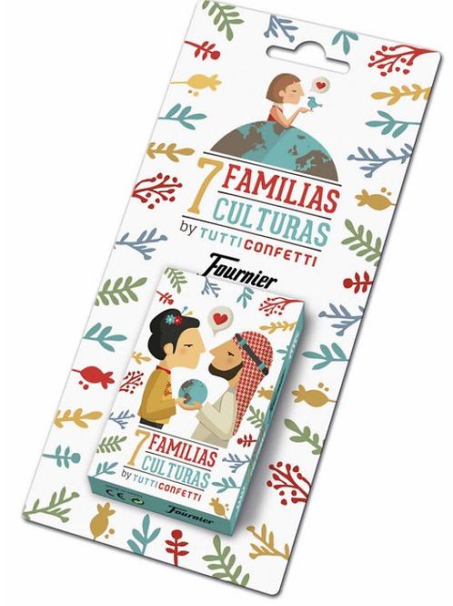 BARAJA FAMILIAS 7 CULTURAS FOURNIER