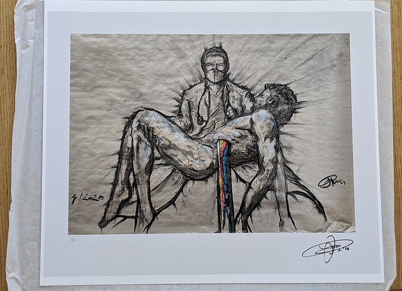"""""""Saviours"""" by Paolo Troilo. A signed limited edition print"""