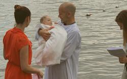 Baptism at the Lake