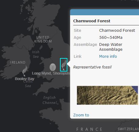 Precambrian life in a map