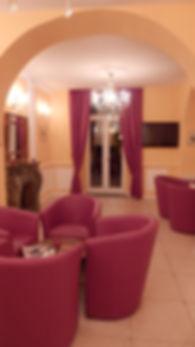 Le salon  hôtel U Palazzu Venaco Corte Corse