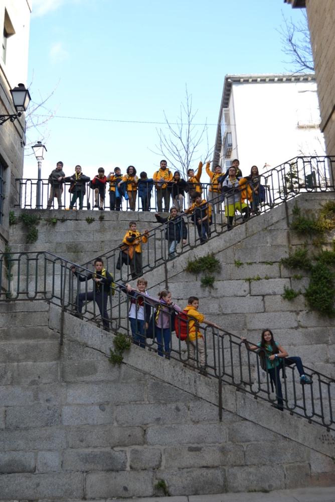 Los SEEONEE nos fuimos de excursión al Escorial