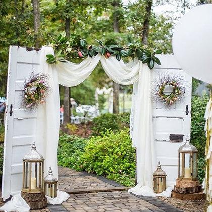 White Wedding Doors