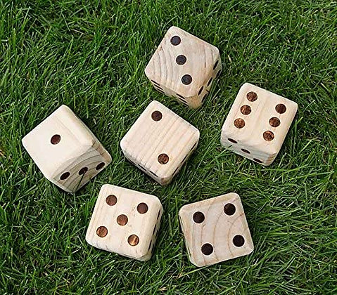 Giant Yahtzee Dice Game
