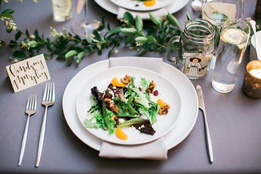 Salad & Dessert Plate